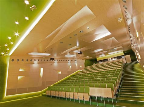 Interior Technology by Auditoriums At Silesian Of Technology In Gliwice