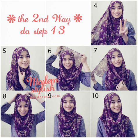 simple hijab tutorial style for beginners hijab tutorial for beginner muslimahsplash