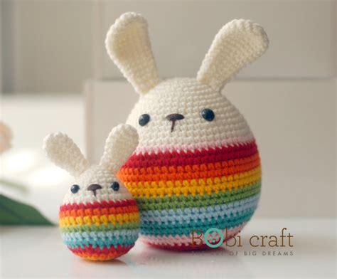 Handmade Knitted Toys - big soft wool handmade easter eggs knitted crochet