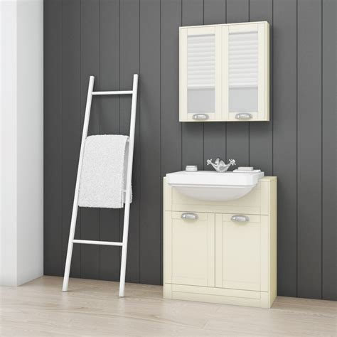 ivory bathroom suite nottingham ivory semi inset furniture bathroom suite with