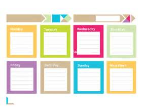 printable weekly planner template doc 746530 7 weekly planner template with times