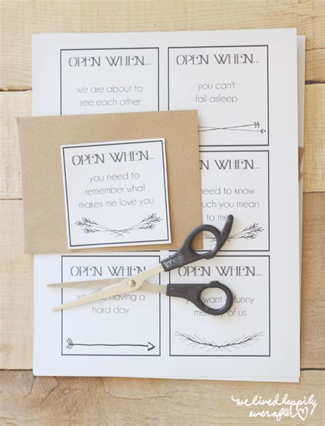 open when letters template printable quot open when quot envelope labels for distance