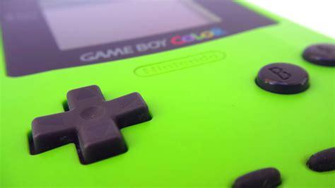 gameboy color green green nintendo boy color free stock photo