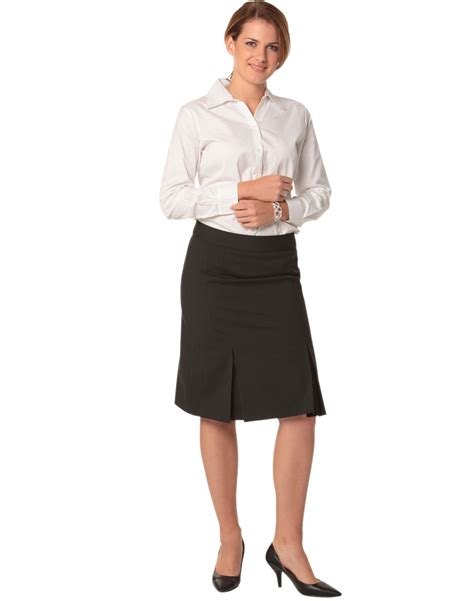 m9473 s wool blend strecth pleated skirt