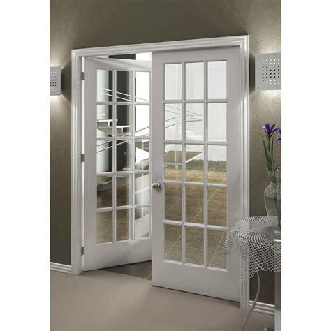 15 Lite French Interior Door With Clear Glass 15 Light Interior Door