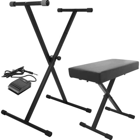 on stage keyboard bench on stage keyboard stand bench pak with ksp20 sustain