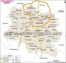 Metro Cities In India Essay by K V Ranga Reddy District Map Telangana