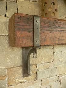 Fireplace Mantel Support Brackets Exterior Mantle Brackets Detail Mantle Exterior And