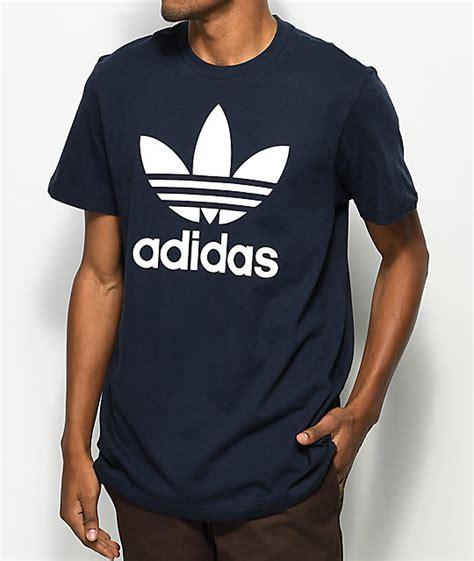 Kaos Adidastshirtt Shirt Adidas adidas originals trefoil legend ink navy t shirt zumiez