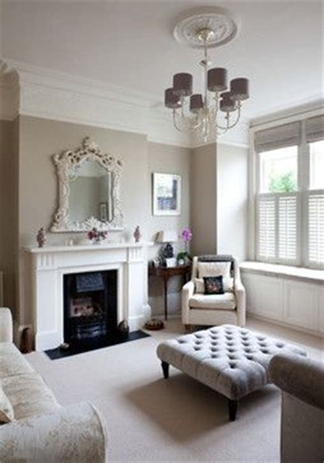 gray neutral living room haus pinterest the neutral shades of taupe and grey in this london