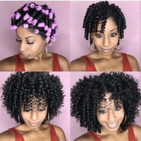 perm rod hair styles on natural hair best 25 spiral perm rods ideas on pinterest hair rods