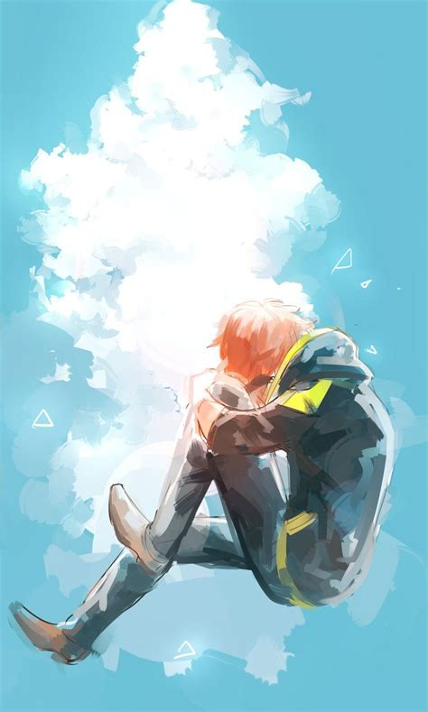 Mystic Messenger V2 Phone 1 when you are sad you should look up to the sky mystic messanger