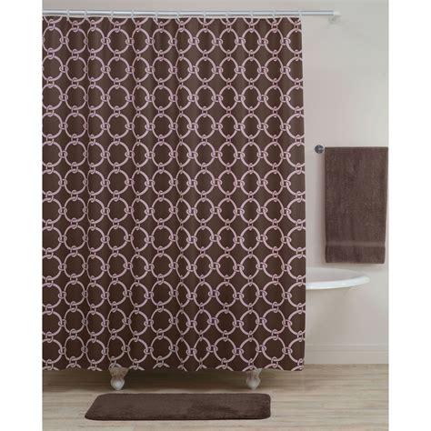 Vinyl Shower Curtains Essential Home Shower Curtain Tea Leaves Vinyl Peva Home Bed Bath Bath Shower Curtains