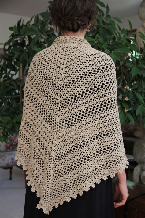 crochet pattern pineapple shawl free original patterns