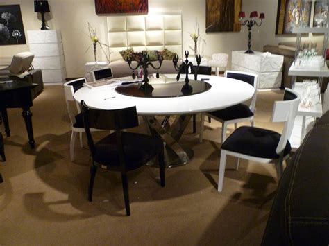 modern round dining room sets rs floral design the ideas glass modern round dining table rs floral design