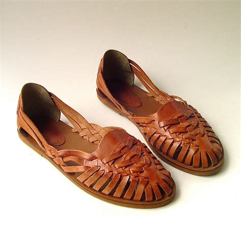 Wedges Shoes Caramel Brown Cross Sling 66001 vintage cara caramel brown woven leather huarache sandals