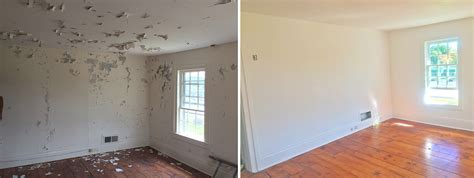 interior house paint before after interior paint before