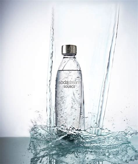 designboom water bottle sodastream source bottle re design by yves behar