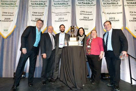 Tmx Finance Corporate Office by Cibc Wins The Tmx Cup At Frontier College S Scrabble R