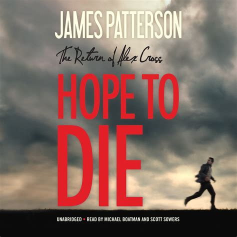 hope to die alex 009957408x download hope to die audiobook by james patterson read by