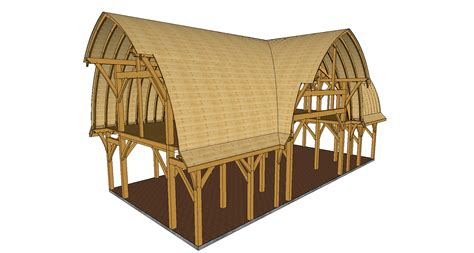Curved Roof Construction Curved Roof Barns The Shelter