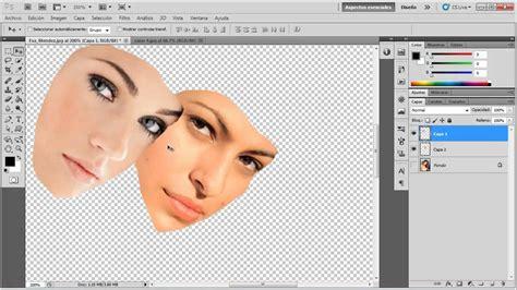 tutorial photoshop cs5 como recortar una imagen c 243 mo cambiar de cara a una persona video tutorial de