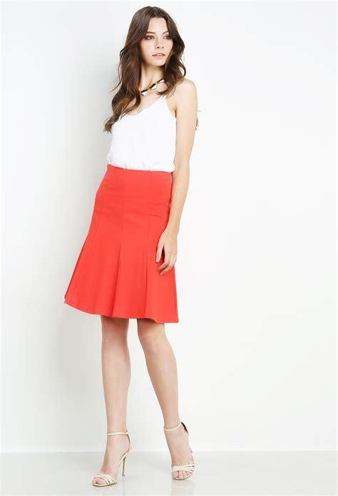 Flare Skirt Midi Excellent Quality midi flare skirt shop bottoms at papaya clothing