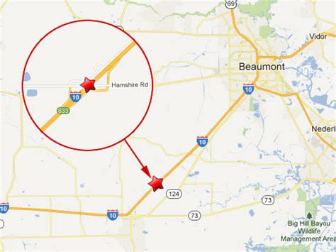 texas mile marker map semi trucks vehicles collide leave 2 dead in 100 car pile up on i 10 near beaumont tx truck