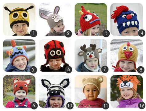 cappelli per lade da tavolo schemi per cappellini a uncinetto per bambini