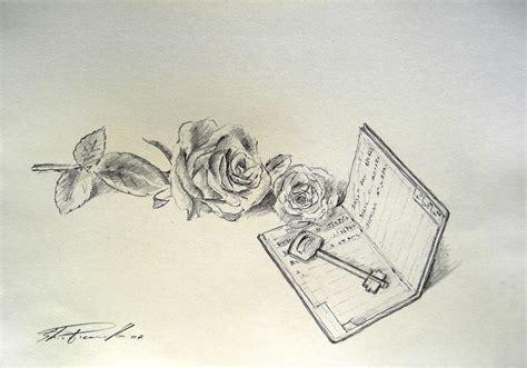 fiori disegnati a matita disegni a matita