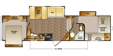 crossroads cruiser fifth wheel floor plans 2013 crossroads rv cruiser patriot provincial fifth wheel