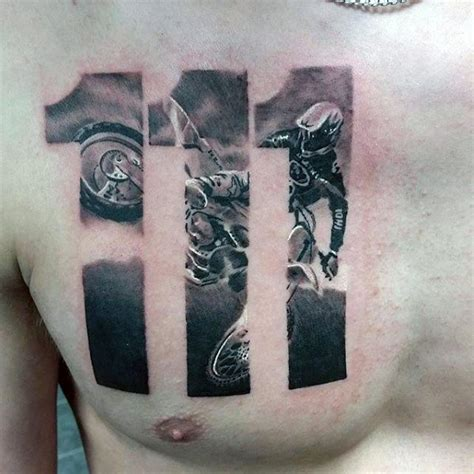 cross tattoo with numbers 60 great tattoos for men masculine design ideas