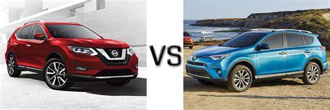 Toyota Rogue 2017 Nissan Rogue Vs Toyota Rav4