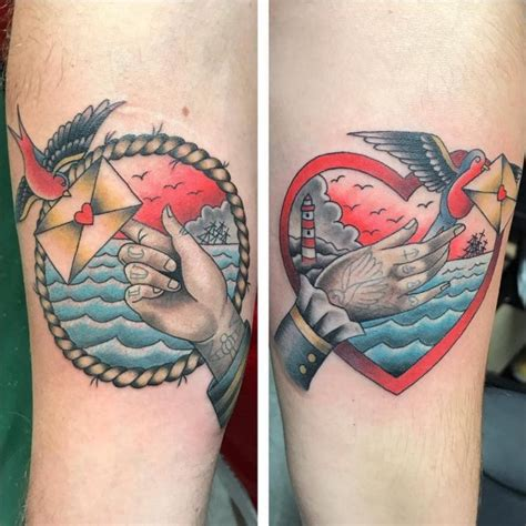 his and her tattoos 120 cutest his and hers ideas make your bond stronger