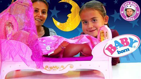 bett kinder baby born prinzessinnen bett interactive traumhaftes