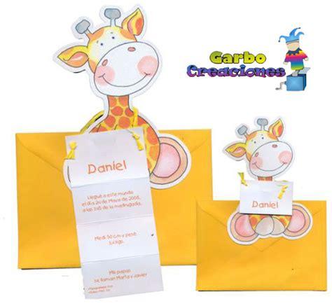 imagenes de jirafas para baby shower invitaciones para baby shower con jirafas tarjetas para