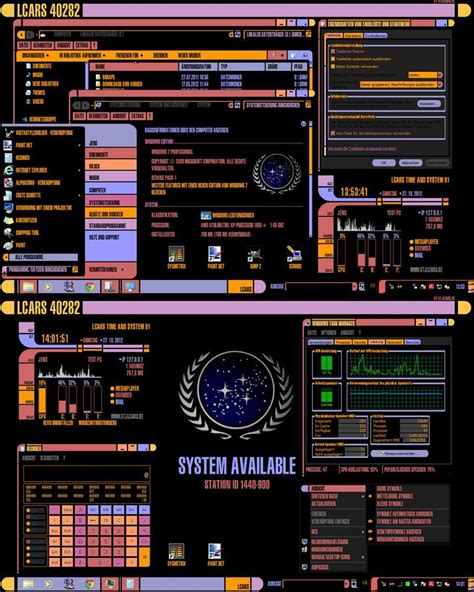 download themes for windows 7 enterprise star trek lcars visual style for windows 7 by gtjlcars on