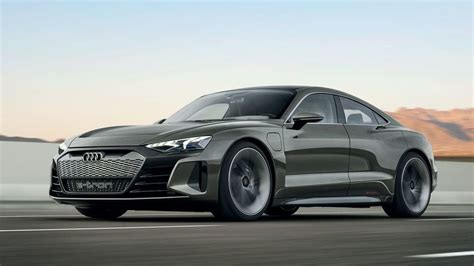 audi  tron gt concept   incredibly handsome