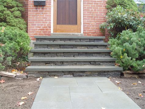 how to build steps to a front door front step makeover earth landscape s weblog