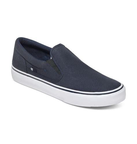 Slip On Dc by Dc Shoes Trase Slip On Shoes Adys300184 Ebay