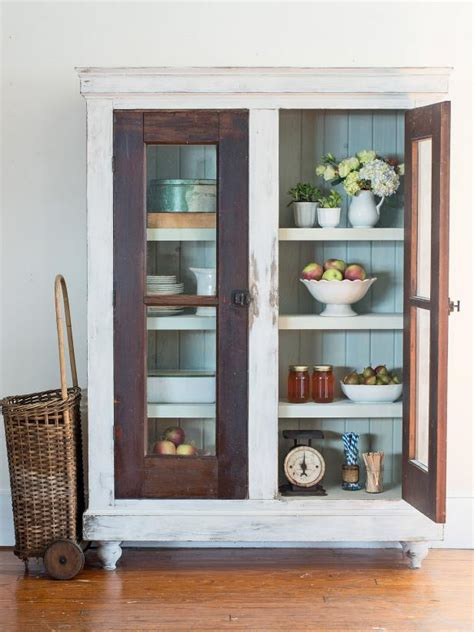reclaimed kitchen cabinet doors upcycle reclaimed doors into a custom storage cabinet hgtv