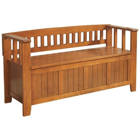simpli home acadian collection entryway storage bench