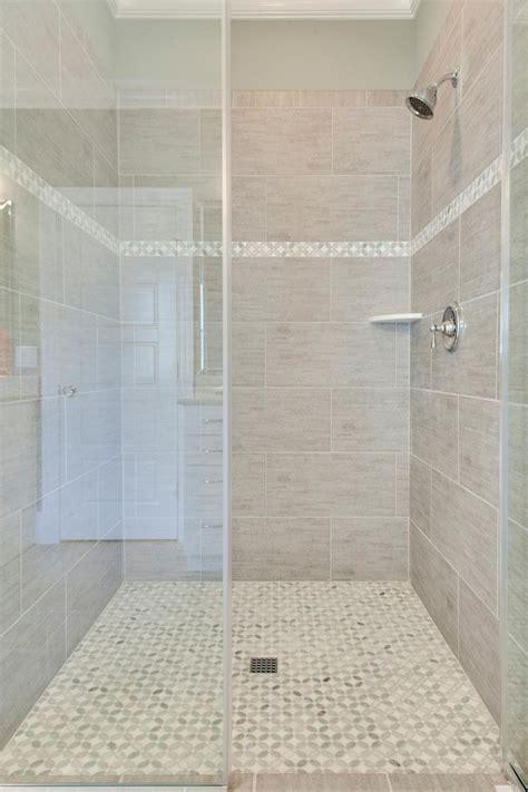 large tile shower ideas  pinterest master