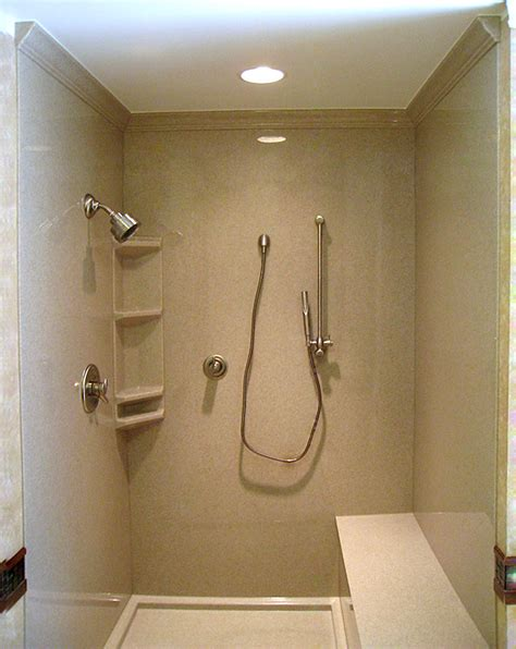 Shower Door Molding by Shower Surrounds Bathroom Remodeling