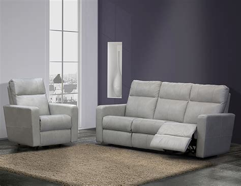 Elran Leather Sofa by Elran Power Reclining Sofa Refil Sofa