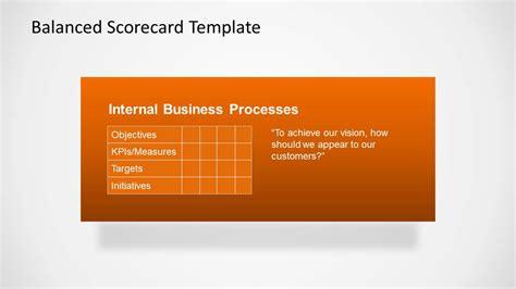 balanced scorecard powerpoint template balanced scorecard template for powerpoint slidemodel