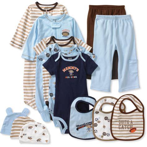 Child of mine by carter s newborn boys 13 piece essential set baby amp toddler walmart com
