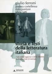 storia e testi della letteratura italiana giulio ferroni storia e testi della letteratura italiana