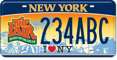 Dmv Vanity Plates Ny by New York State Fair New York State Of Opportunity