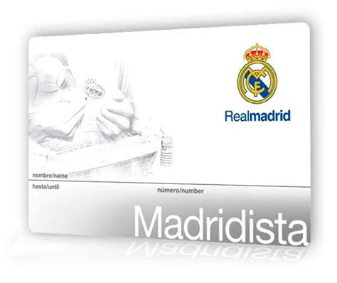 membuat id card madridista international madridistas real madrid cf